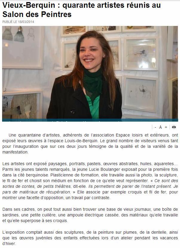 Article vIieux- BERQUIN